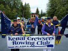 Kenai Crewsers on Parade